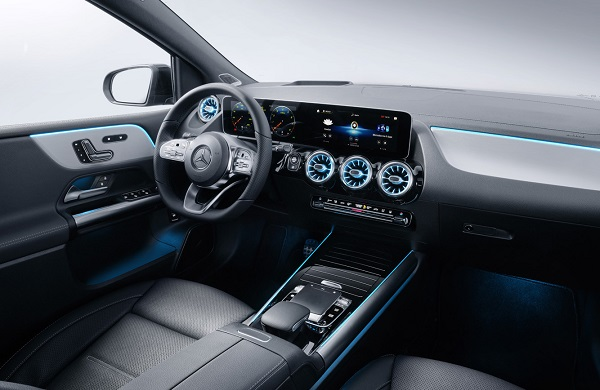 Mercedes Benz Clase B 2019 Interior
