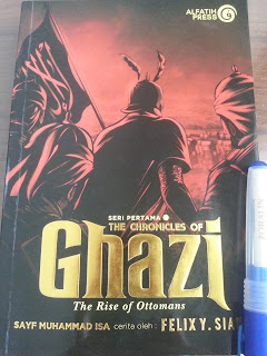 Resensi Buku The Chronicles of Ghazi - The Rise of Ottomans