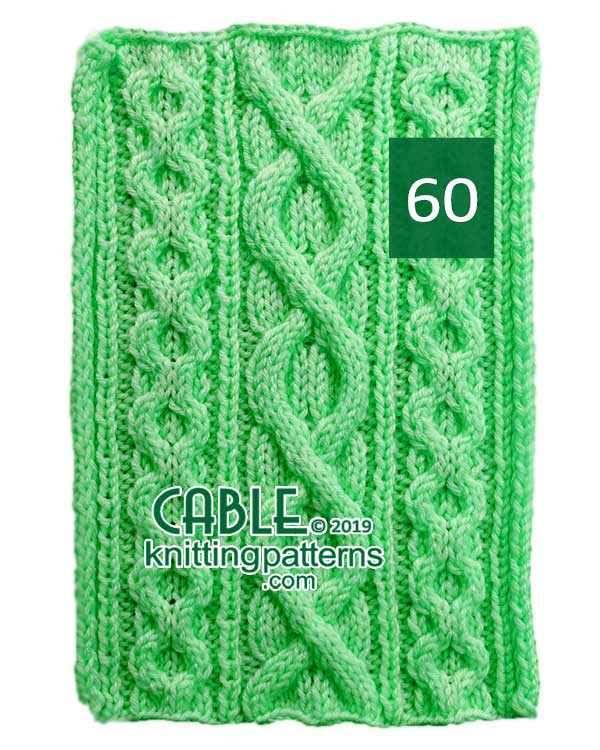 Cable Knitting Pattern 60