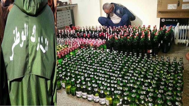 الزبوجة : الدرك يطيح بمروج للمشروبات الكحولية والعدالة تسلط عليه السجن