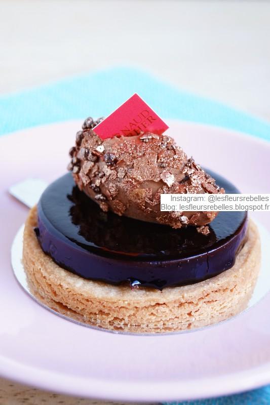 Pâtisserie Arnaud Larher gâteau Caracas chocolat noir et ganache