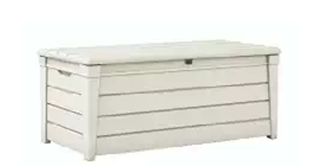 White Deck Boxes ~ Outdoor Furniture