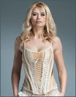 Women's Stretch Lace Corset