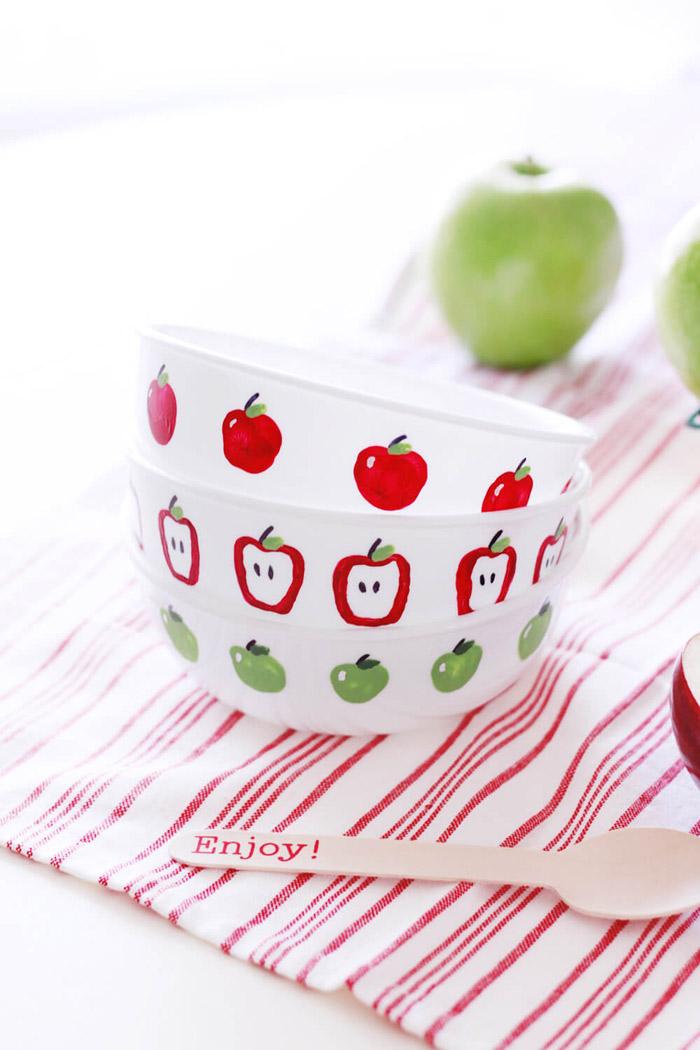 Apple Bowls