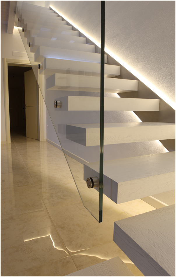 Lighting Basement Washroom Stairs: Led+stairs.png (604×948)