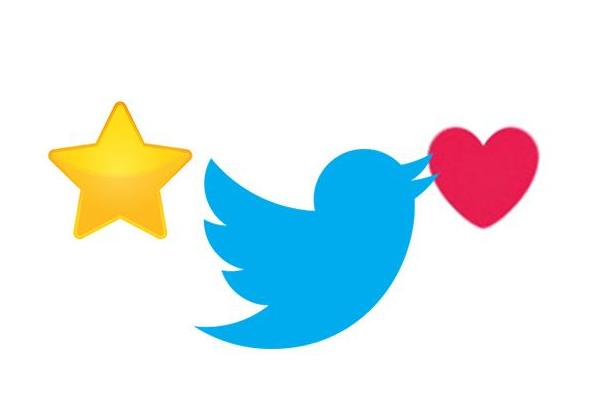 تويتر يعتزم إزالة زر الأعجاب