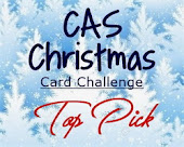 CAS Christmas Card Top Pick