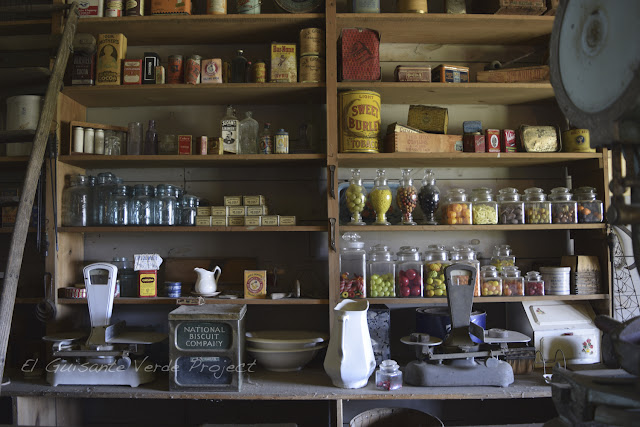1880 Town - Dakota del Sur, tienda ultramarinos