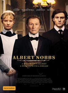 Albert Nobbs Movie Poster.widea Download   Albert Nobbs DVDRip AVI Dual Áudio + RMVB Dublado