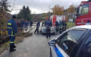 [Ελλάδα] Έρευνες της ΕΛ. ΑΣ. στην Λαμία για απανθρακωμένο πτώμα αγνώστων στοιχείων σε αυτοκίνητο