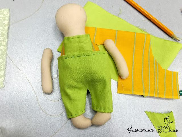 шьем кукол мастер-класс