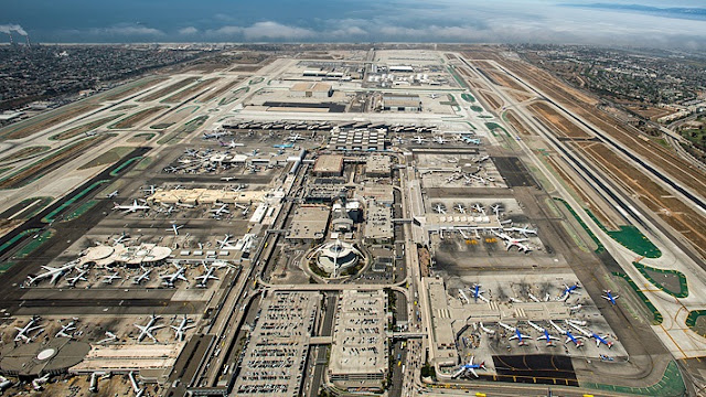 Como ir do aeroporto de Los Angeles para o centro