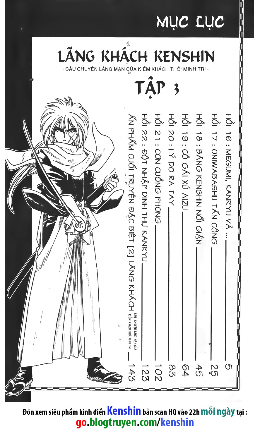 Rurouni Kenshin chap 16 trang 1