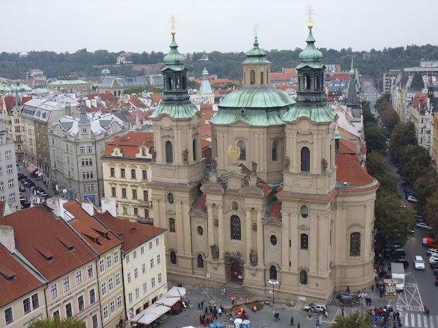 Iglesia de San Nicolás (Chrám svatého Mikuláše) (Praga)