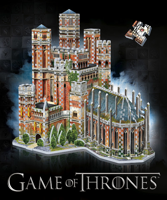 Wrebbit 3D Game of Thrones - RedKeep 3D Puzzle