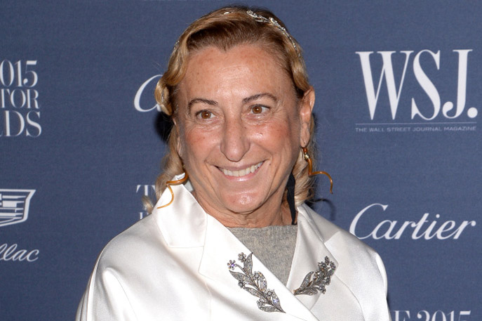 miuccia prada Miu miu was born in 1993 from the independent and unconventional spirit of miuccia prada an outpost for the most refined femininity, a tangible expression of the energy conveyed by women's natural contradictions and provocative personalities to contemporary society.
