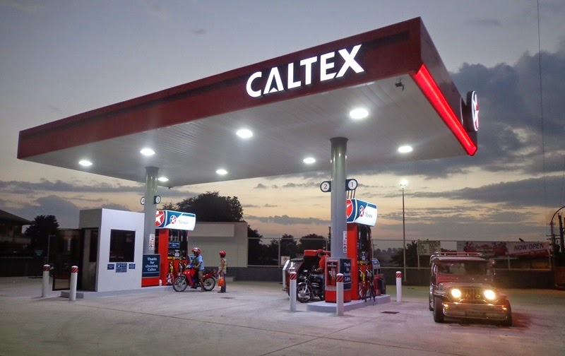 Caltex new station in La Union