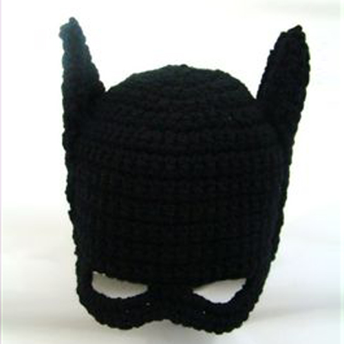 Kids Batman Crochet Hat - Free Pattern