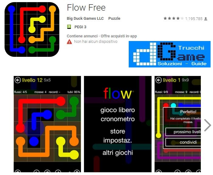 Soluzioni Flow Free di tutti i livelli | Walkthrough guide