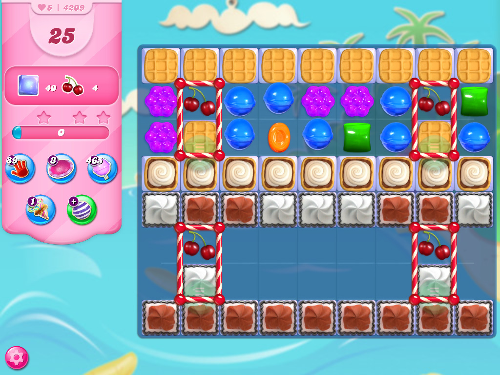 Candy Crush Saga level 4209