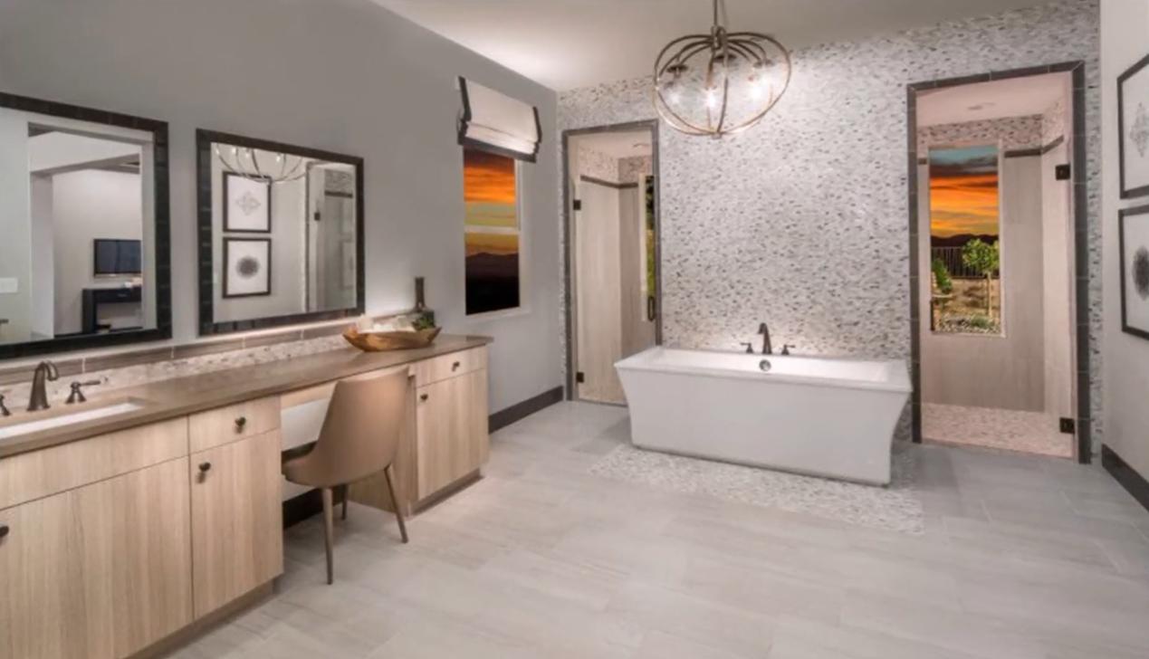 24 Photos vs. Las Vegas Reverence Collection VI Home Interior Design Tour