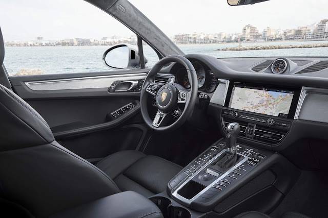 Porsche Macan S V6 3.0 (354 cv) - interior