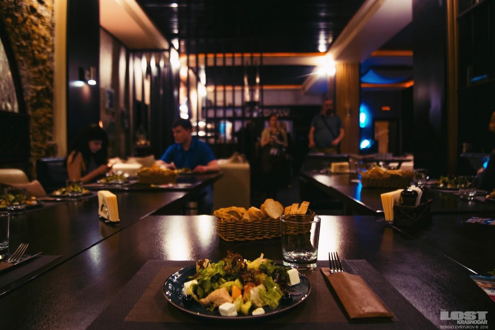 Ресторан Терраса ди Лаго в Абрау-Дюрсо
