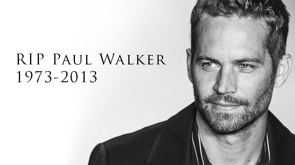 Late Paul Walker | Famous Celebrity Bible