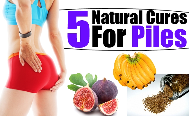 How To Get Rid Of Piles Naturally At Home