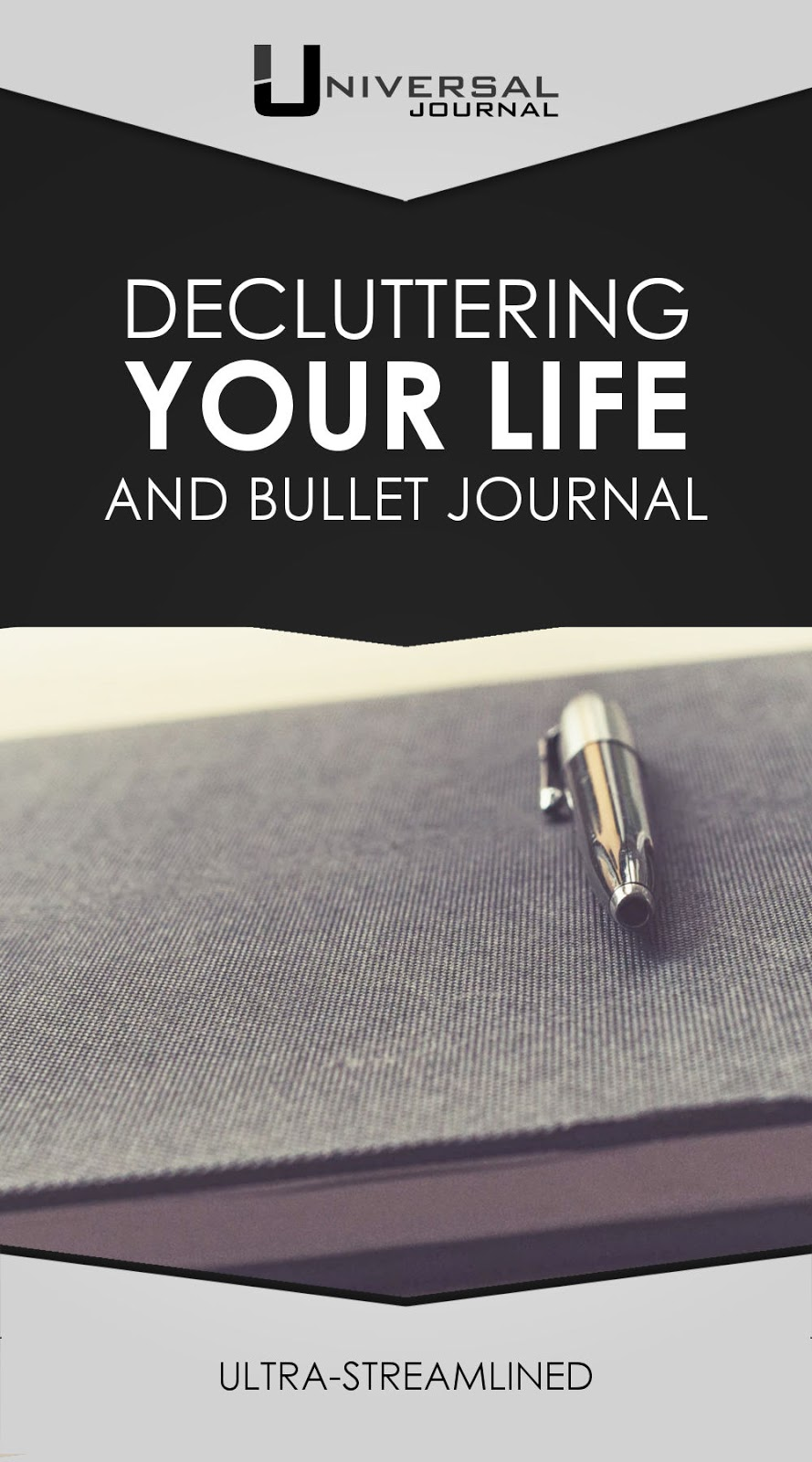 decluttering your bullet journal and your life