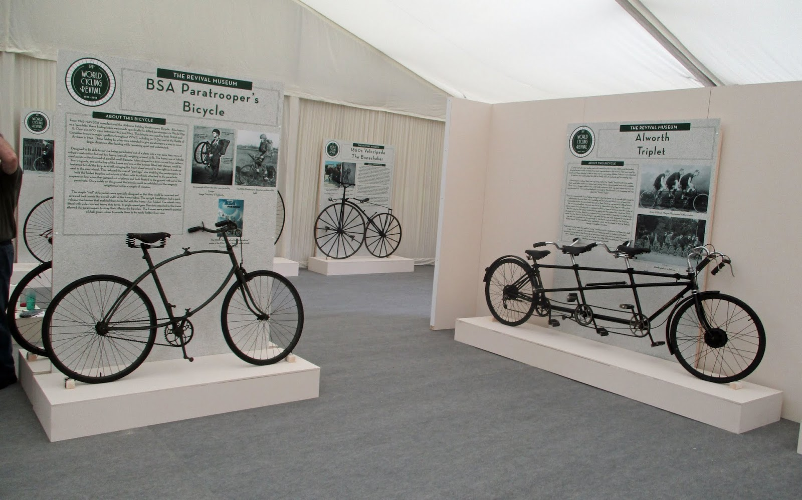 Pedal power as National Cycle Museum exhibits hit the road