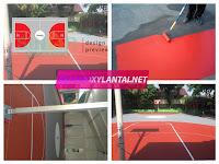 Pengecatan Lapangan Olahraga Berkualitas Dan Terbaik Di indonesia