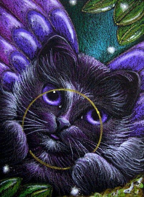 Desktop Backgrounds 4U: Fantasy Cats