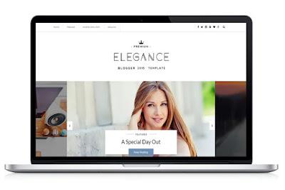 elegance blogger template image