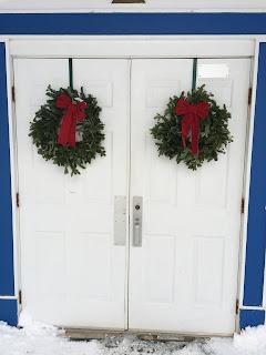 Front Doors to Healing Temple