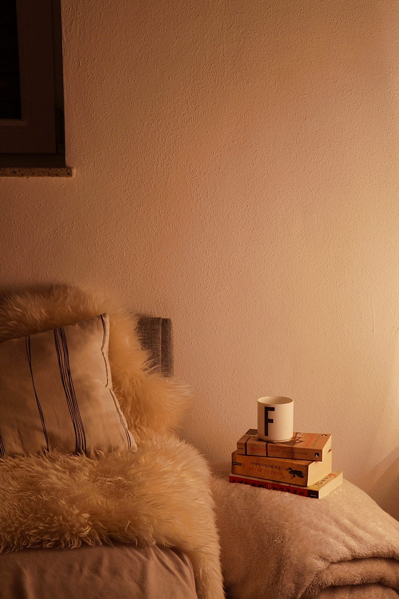 Cosy autumn evenings in bed