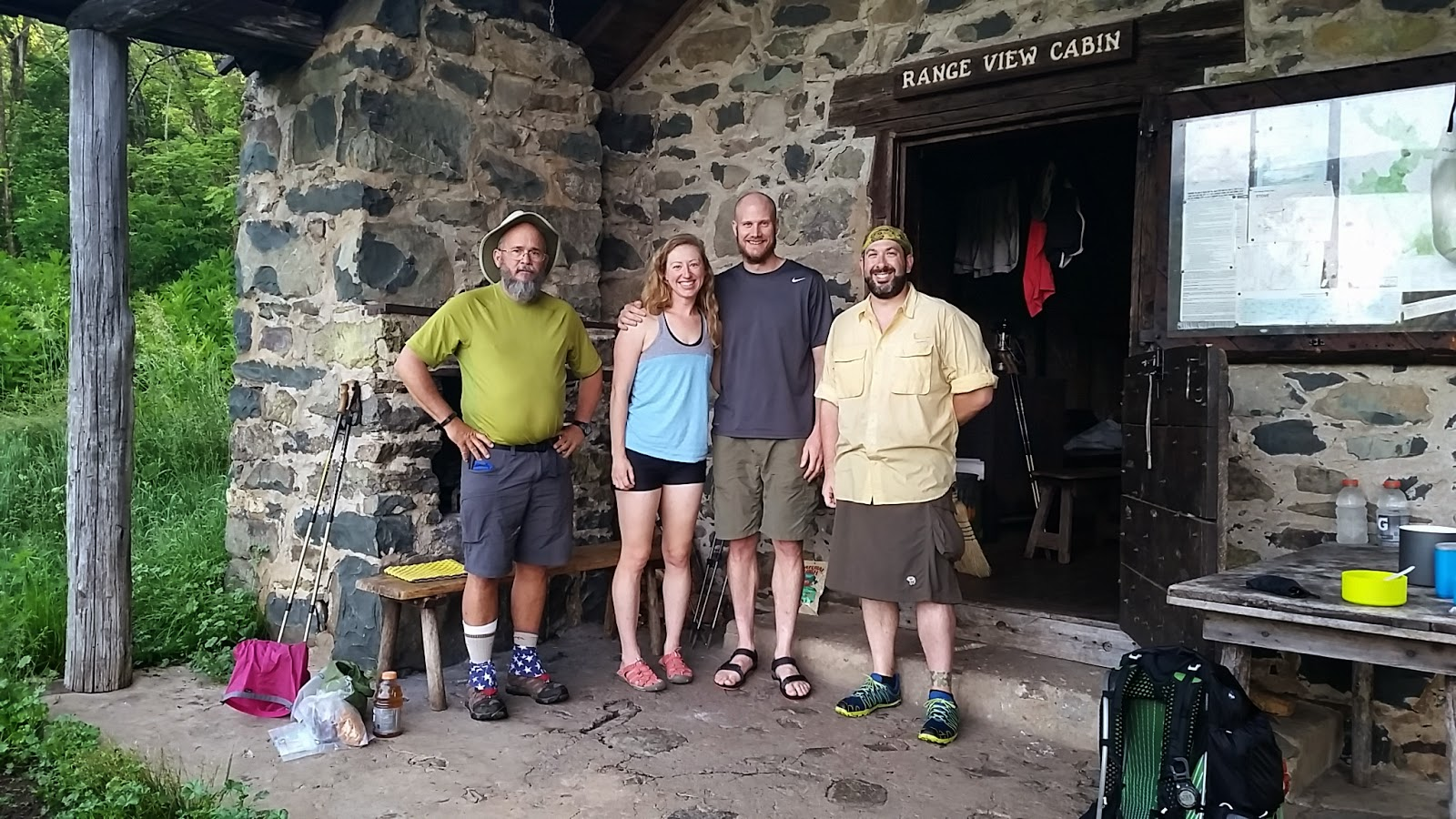 June 1418 2014 Northern District Appalachian Trail from Compton