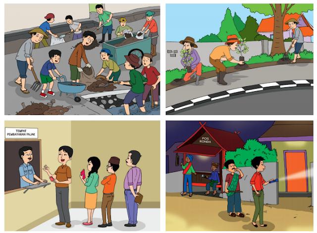 Kewajiban Warga Masyarakat dalam Kehidupan Sehari-hari (Halaman 3)