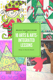 10 Arts & Arts Integrated Lessons: Holiday Resource Round Up (Part 1)