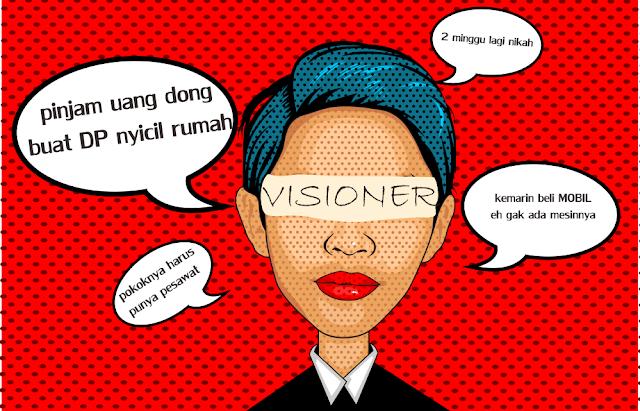 kartun vector visioner