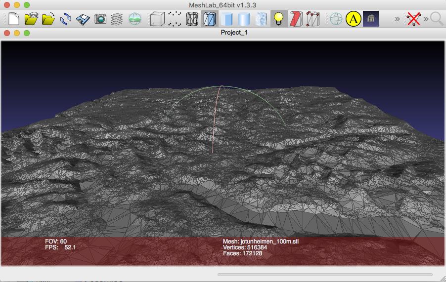 master maps: Creating TINs in SAGA GIS