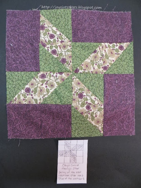 http://joysjotsshots.blogspot.com/2013/09/quilt-shot-block-11-clays-choice.html