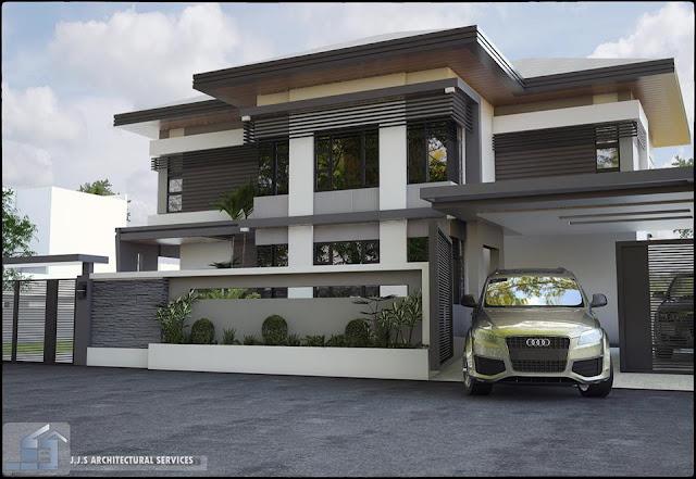 80 Desain Rumah Mewah Minimalis Modern 2 Lantai Model Terbaru Disain Rumah Kita