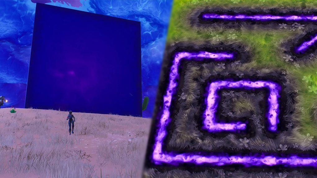 El cubo de Fortnite