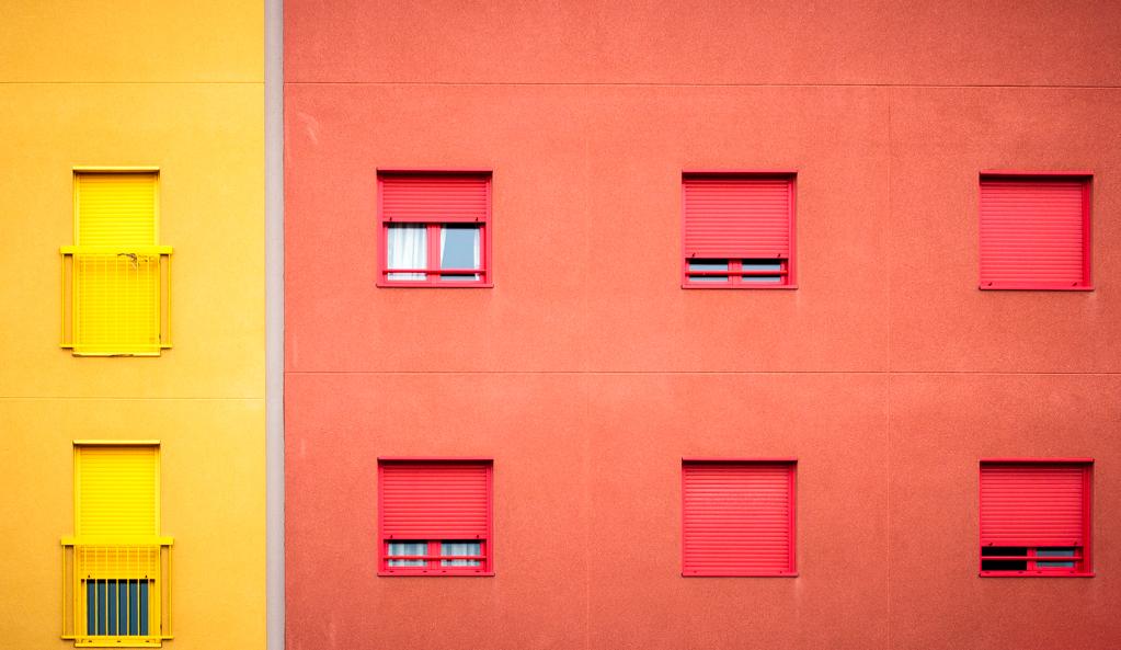 Amarillo y rojo, Ensanche Sur, Alcorcón 2014