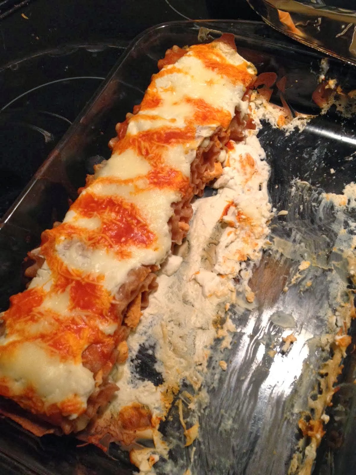 Recipe: Buffalo Chicken Lasagna Rolls