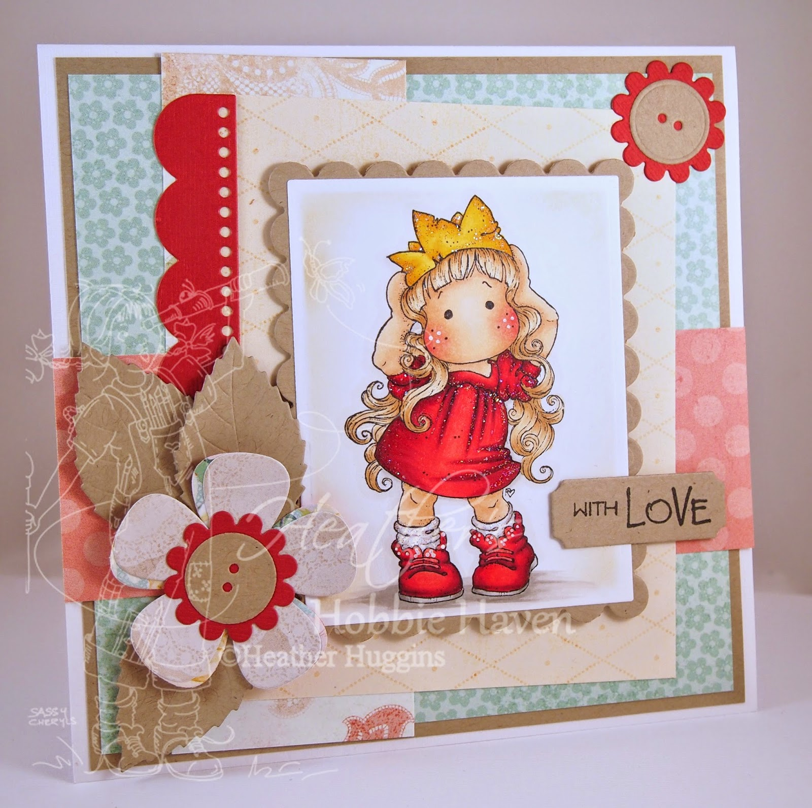 Heather's Hobbie Haven - Princess Party Tilda Card Kit