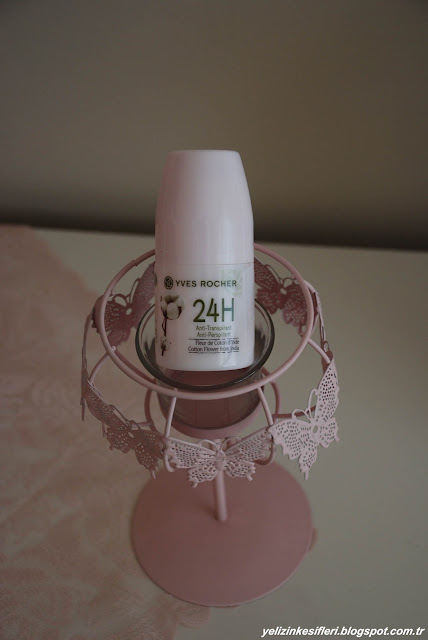 Yves Rocher 24H Hint Pamuk Çiçeği Roll-on