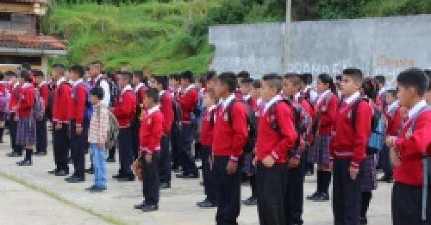 Más de 130 mil estudiantes retornan a clases hoy en la DRE Amazonas