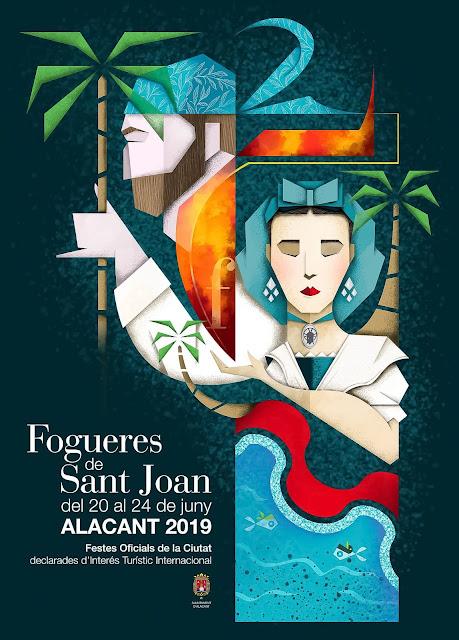 Cartel Fogueres de Sant Joan 2019